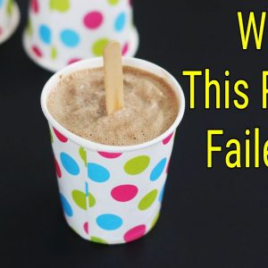 My Failed Recipe Of Chocolate Ice Cream - Worst Recipe Tried -  Recipe Fails | Skinny Recipes