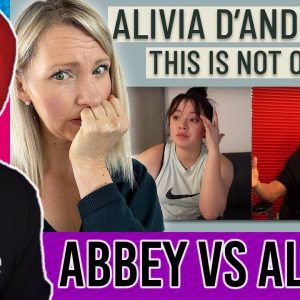 Alivia D'andrea Called Out by Abbey Sharp (Dangerous Weight Loss Advice)