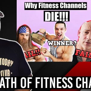 The DEATH Of Fitness Channels?! (Greg Doucette, Alan Roberts, Michelle Mcdaniel)