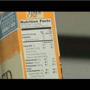 How to Lose Weight : Reading Nutritional Labels