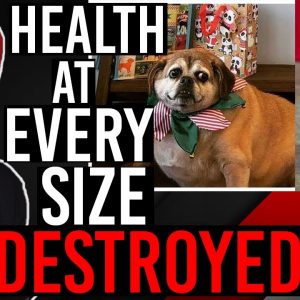 OBESE Dog DESTROYS Health At Every Size..