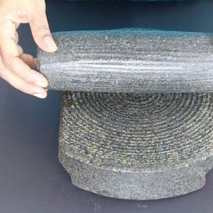How To Season Traditional Stone Grinder - Silbatta - Ammikallu | Skinny Recipes