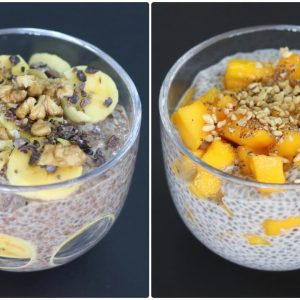 Chia Pudding - 2 Easy & Healthy Chia Pudding Recipes - Chia Seeds For Weight Loss | Skinny Recipes